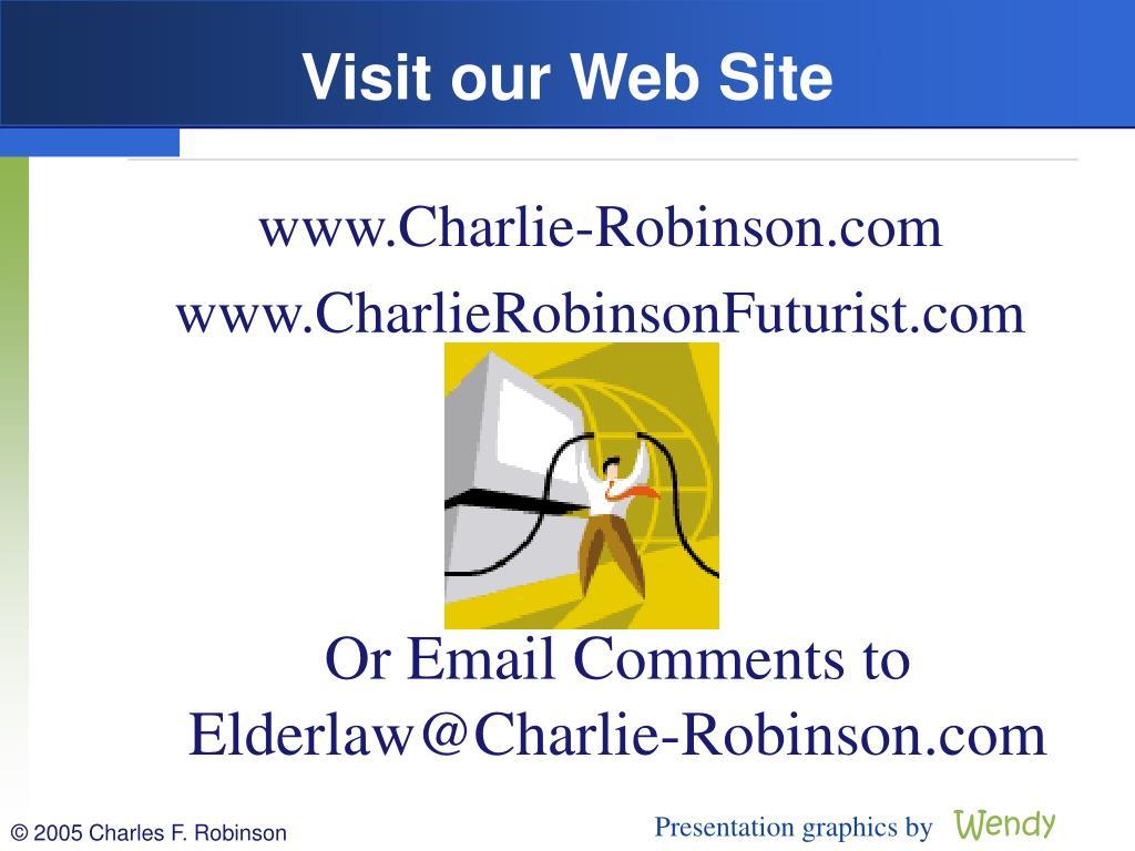 Visit our Web Site