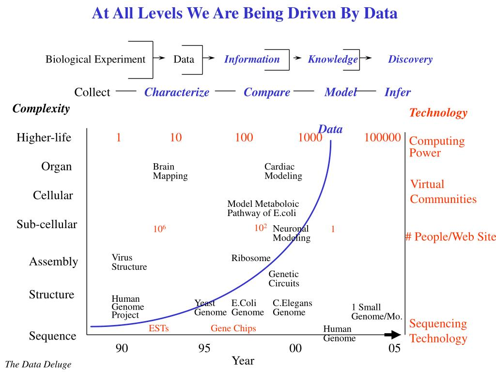 At All Levels We Are Being Driven By Data