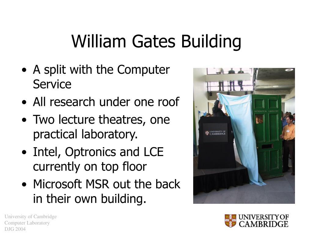 William Gates Building