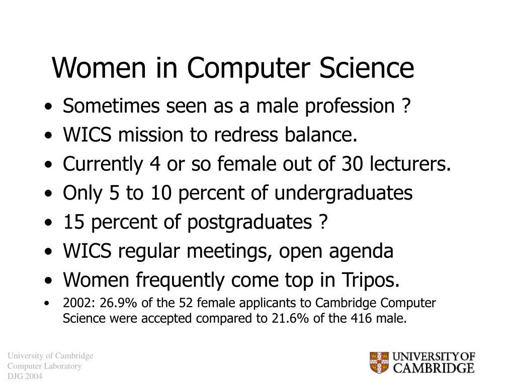 Women in Computer Science