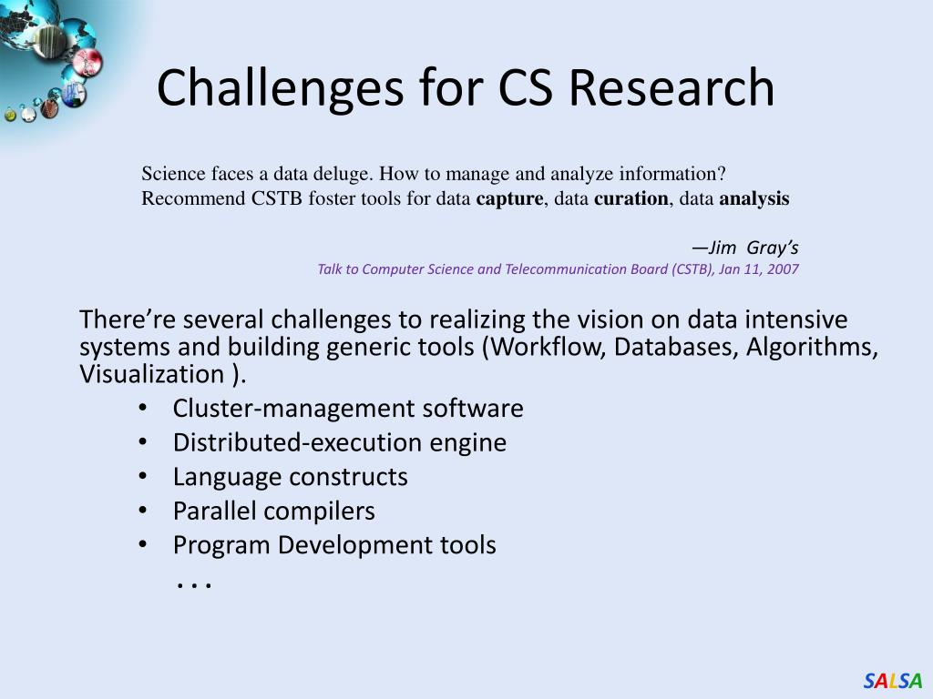 Challenges for CS Research