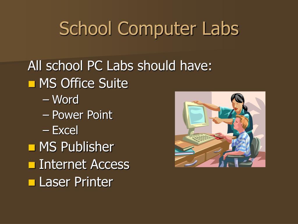 School Computer Labs