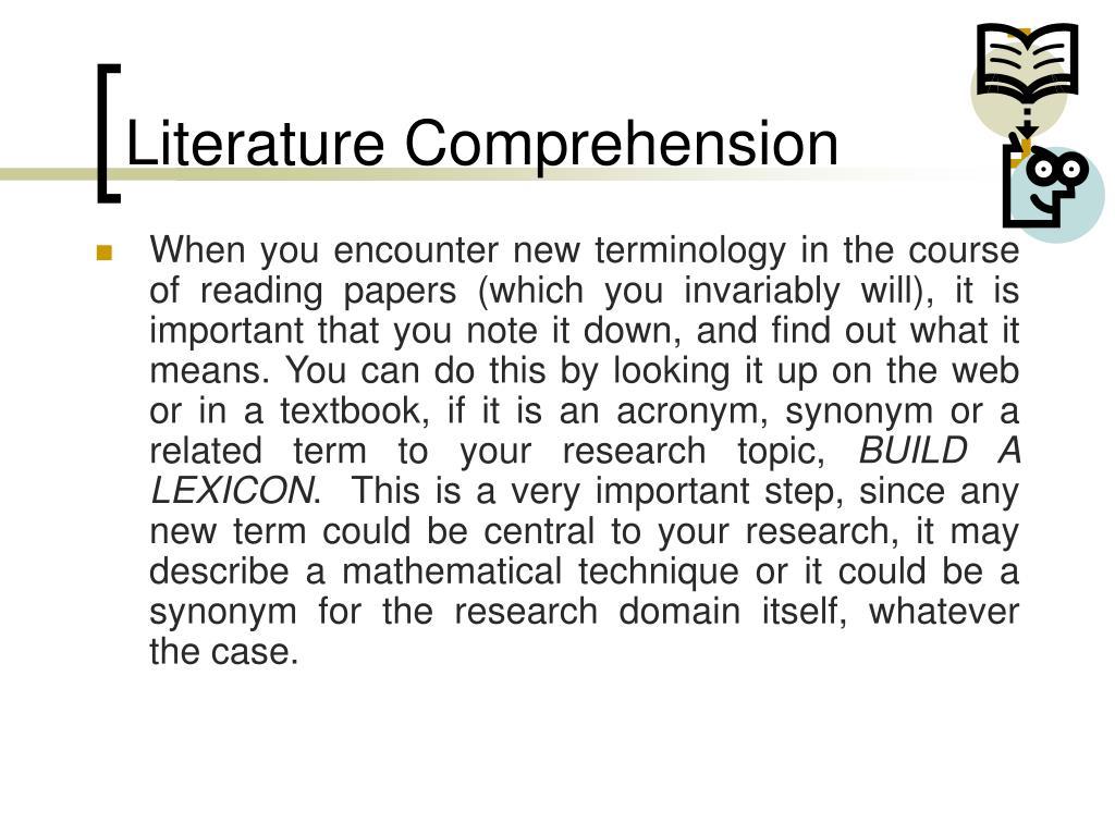 Literature Comprehension