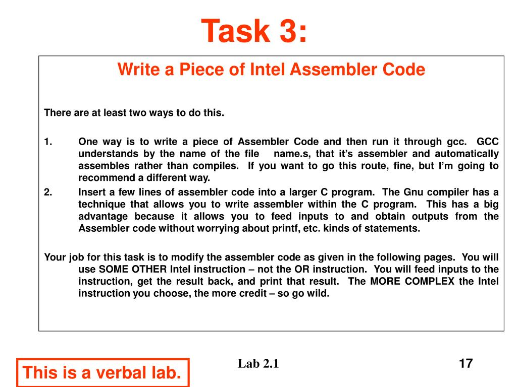 Task 3: