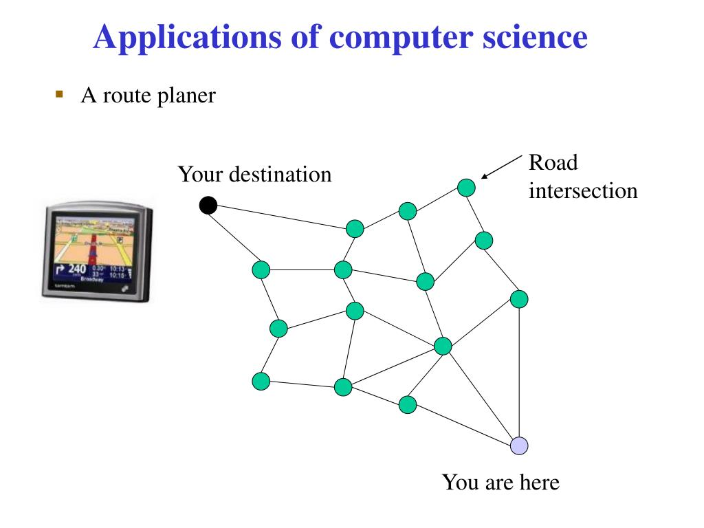 Applications of computer science