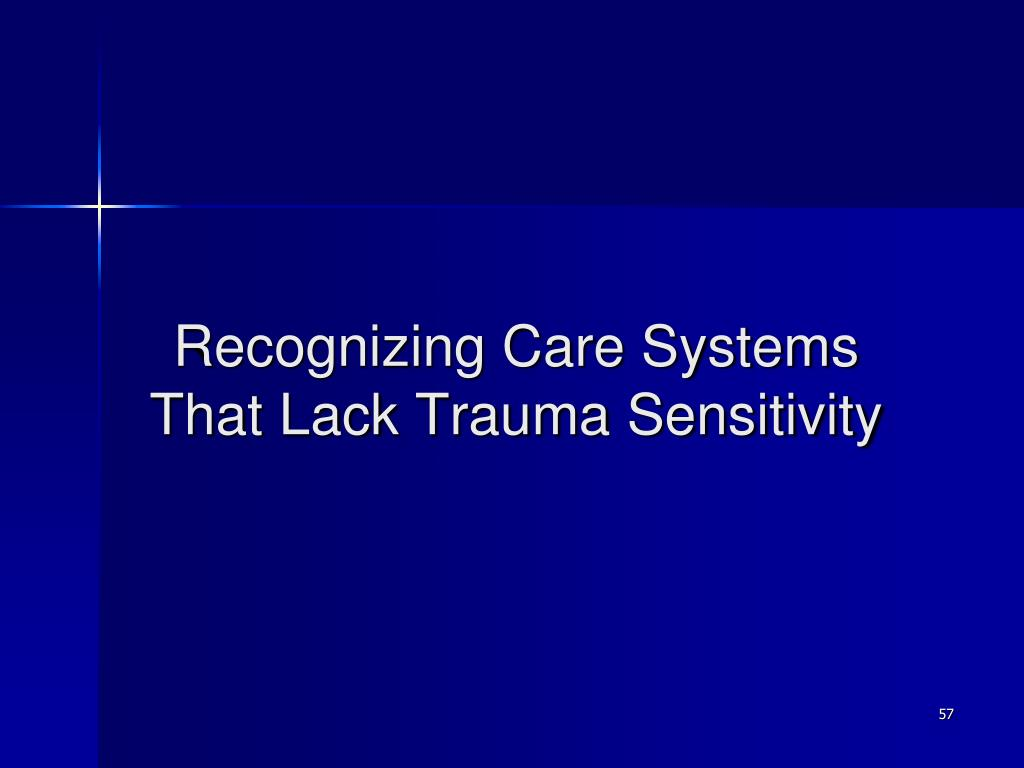 Recognizing Care Systems