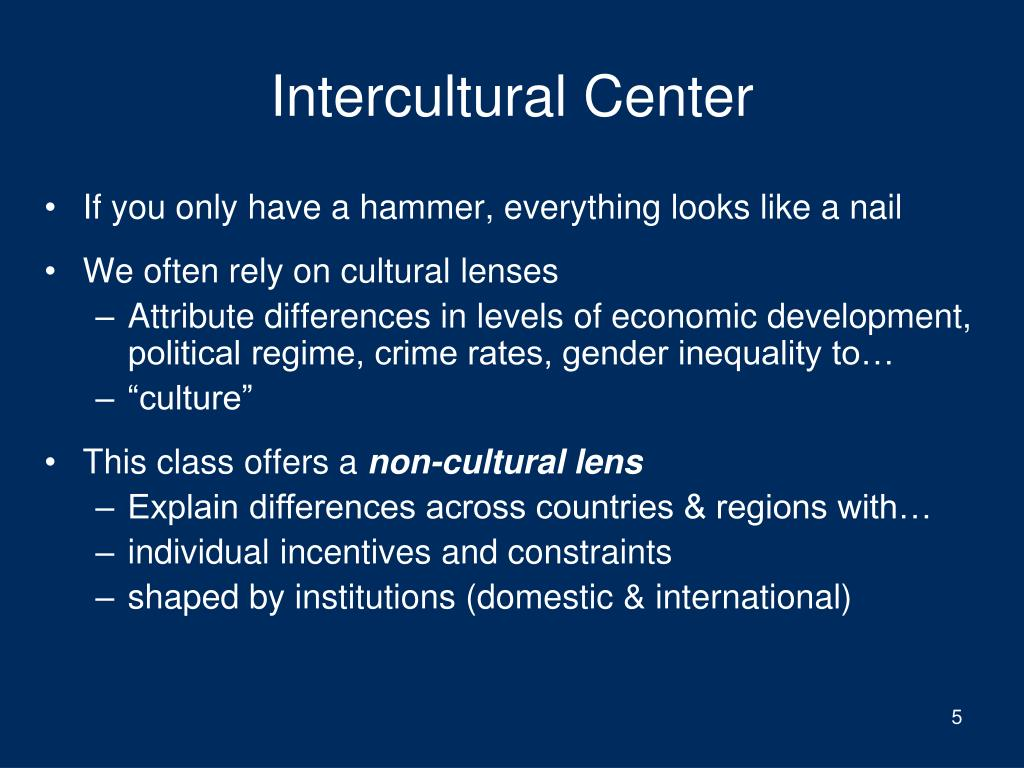 Intercultural Center