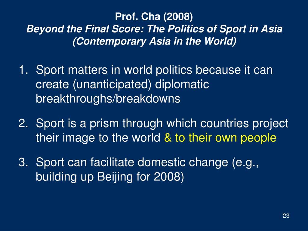 Prof. Cha (2008)