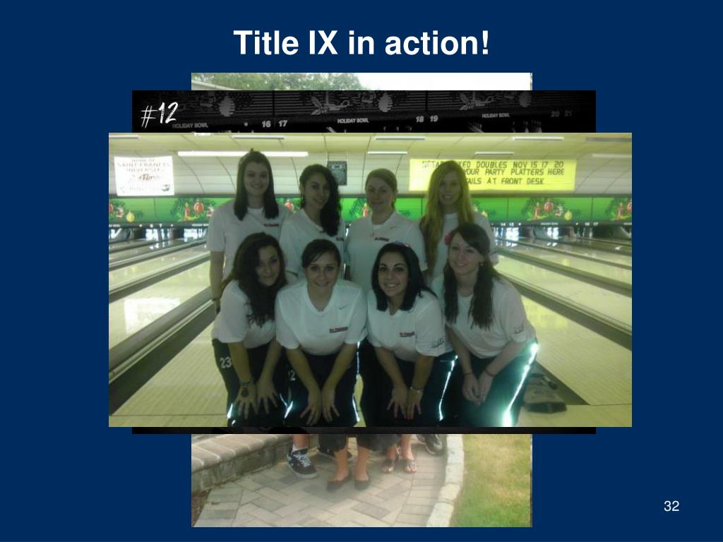 Title IX in action!