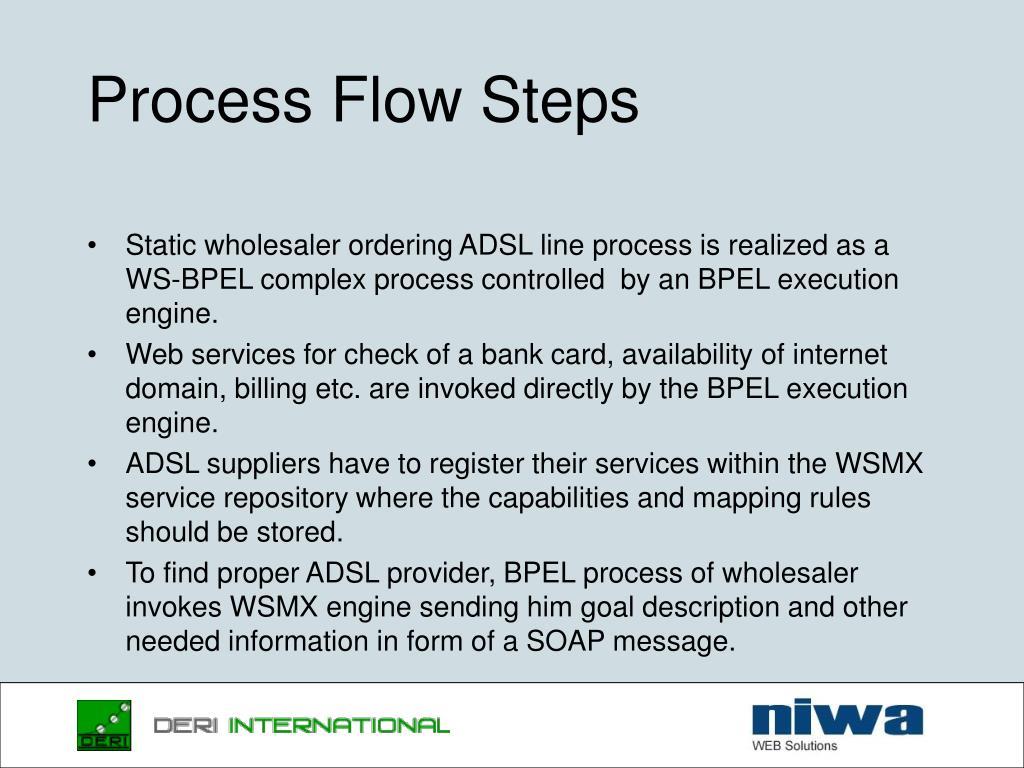 Process Flow Steps
