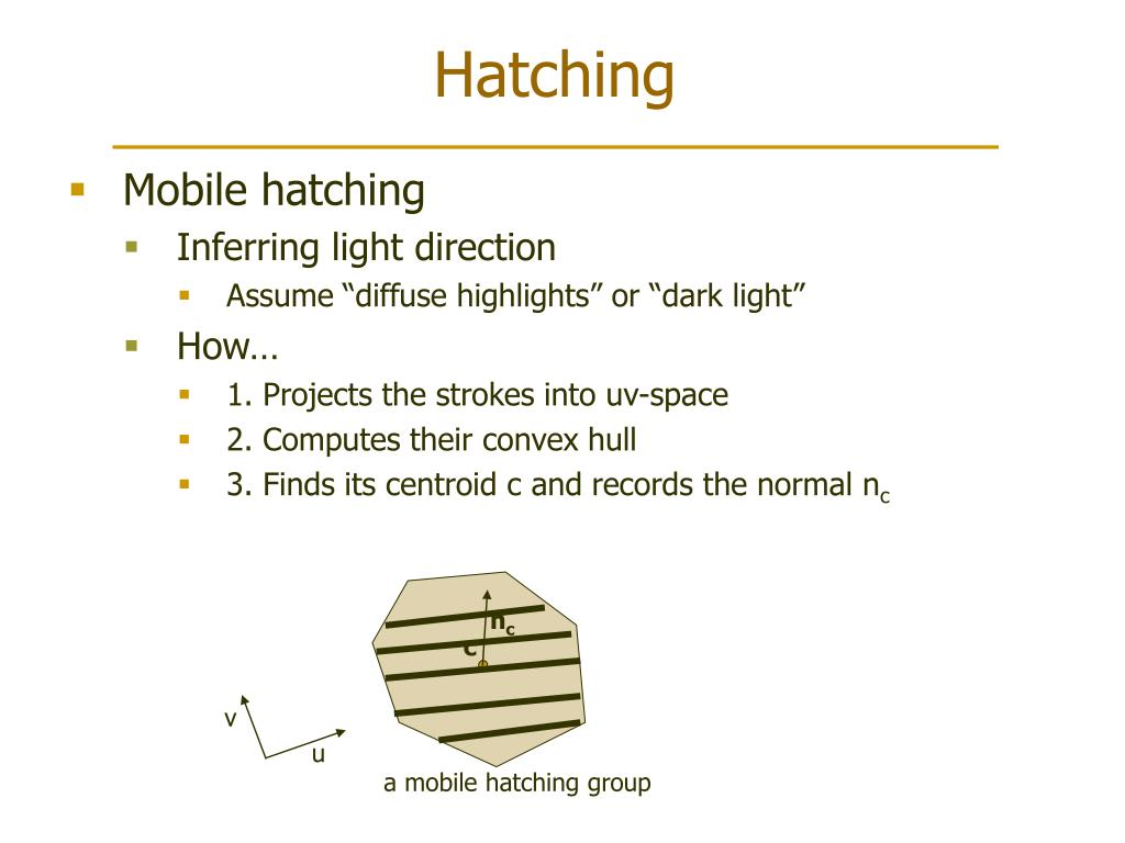 a mobile hatching group