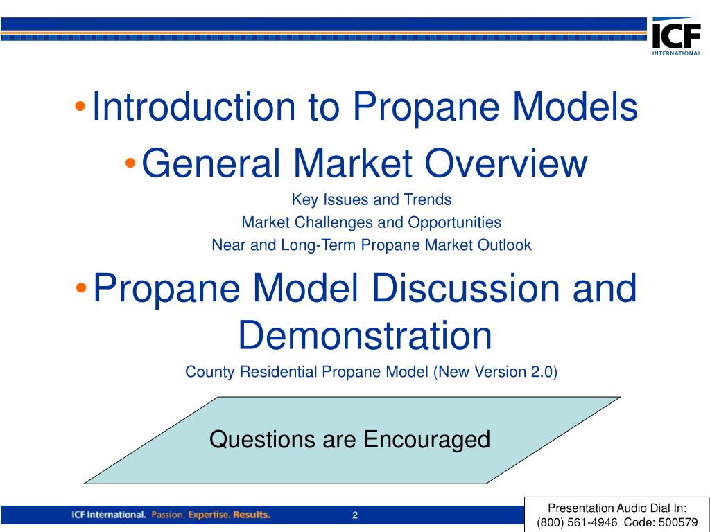 Introduction to Propane Models