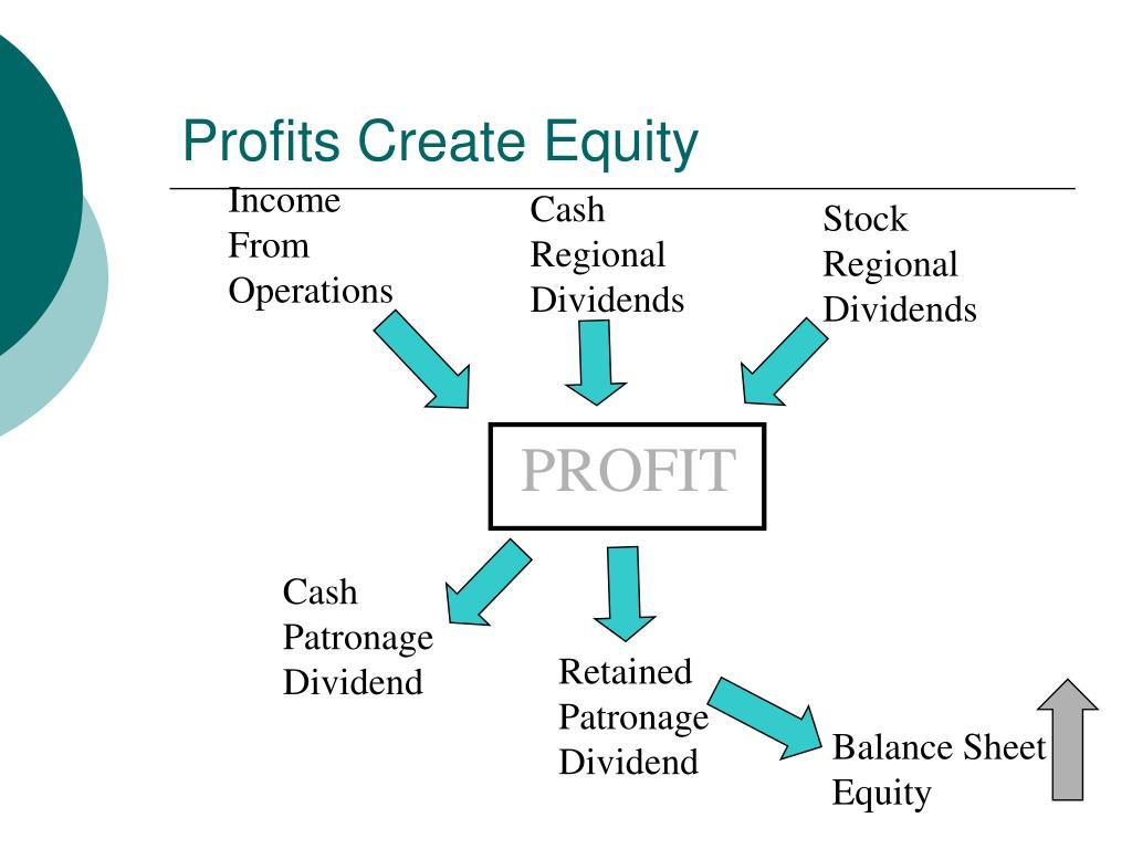 Profits Create Equity