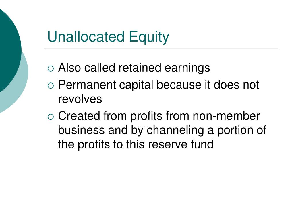 Unallocated Equity