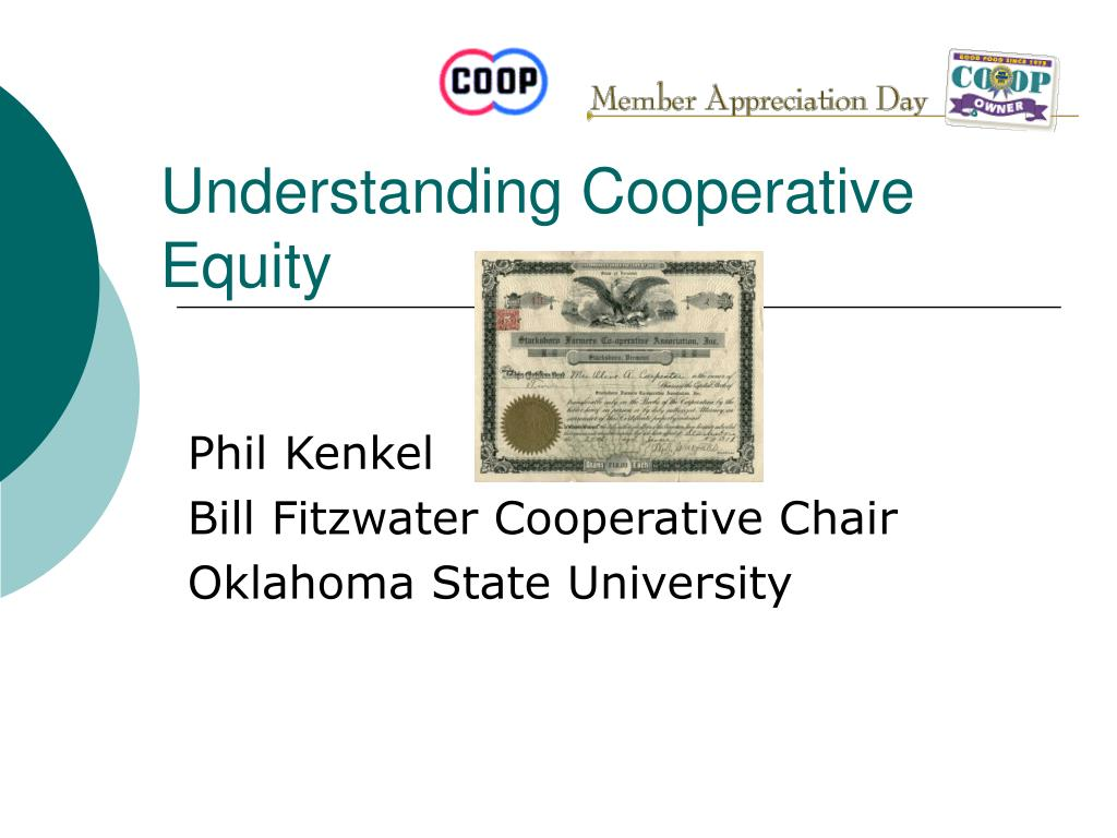 Understanding Cooperative Equity