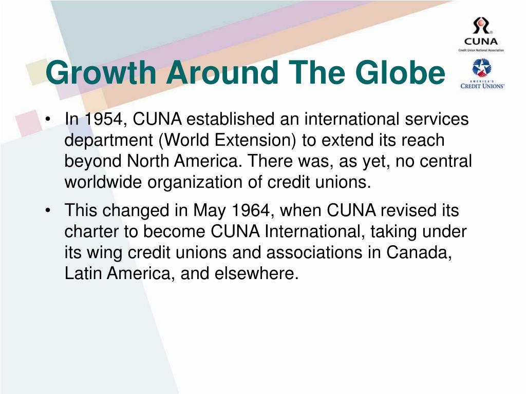 Growth Around The Globe