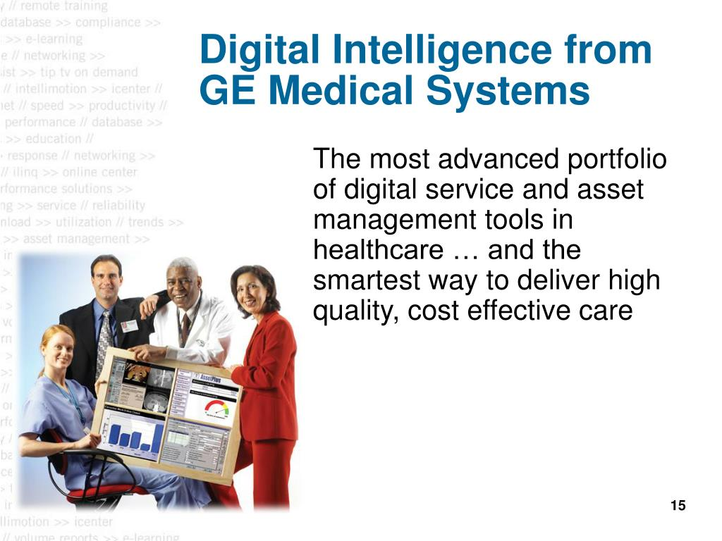Digital Intelligence from GE Medical Systems