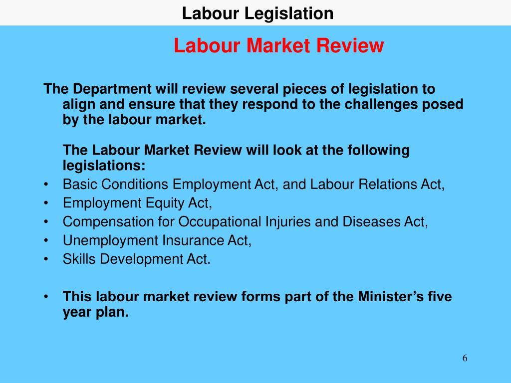 Labour Legislation