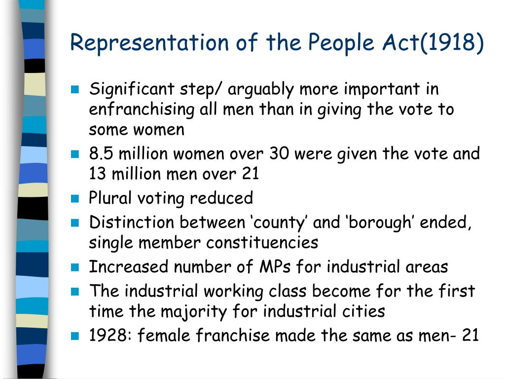 Representation of the People Act(1918)