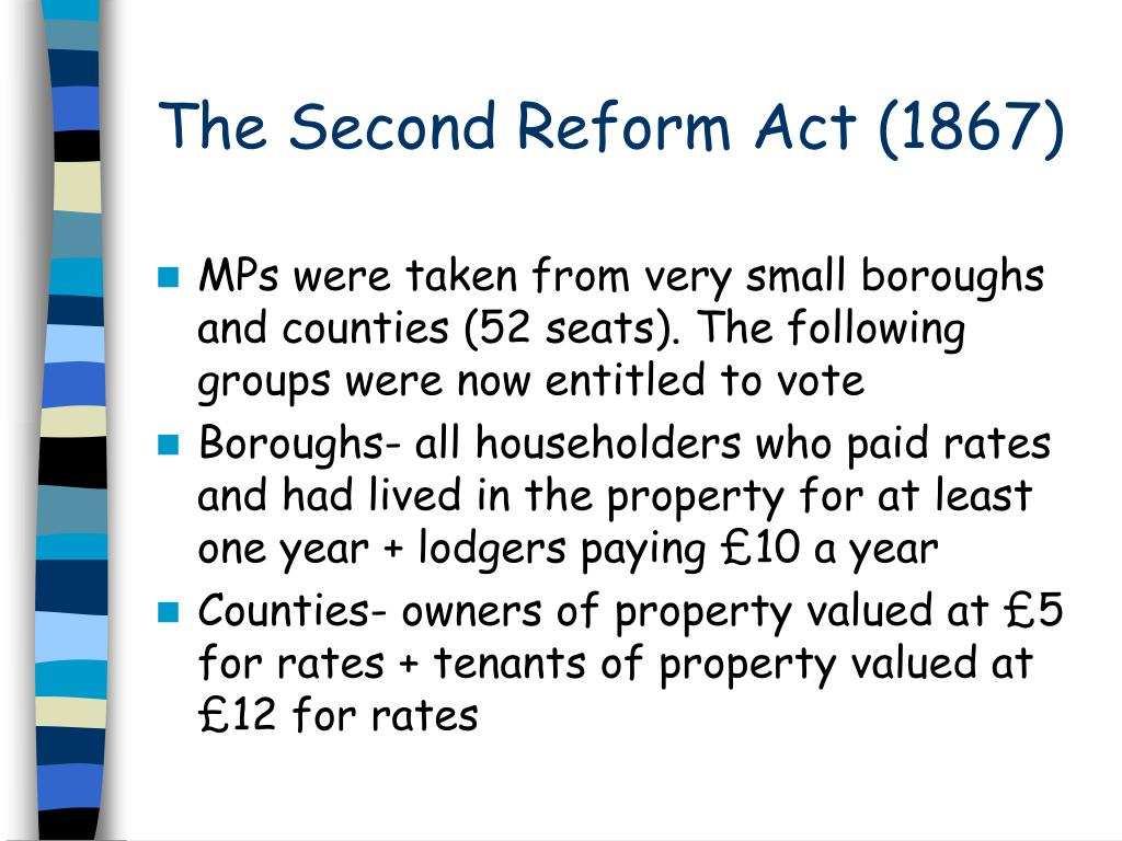 The Second Reform Act (1867)