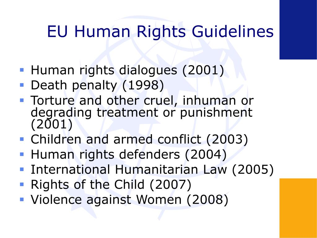 EU Human Rights Guidelines