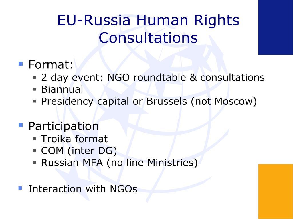 EU-Russia Human Rights Consultations