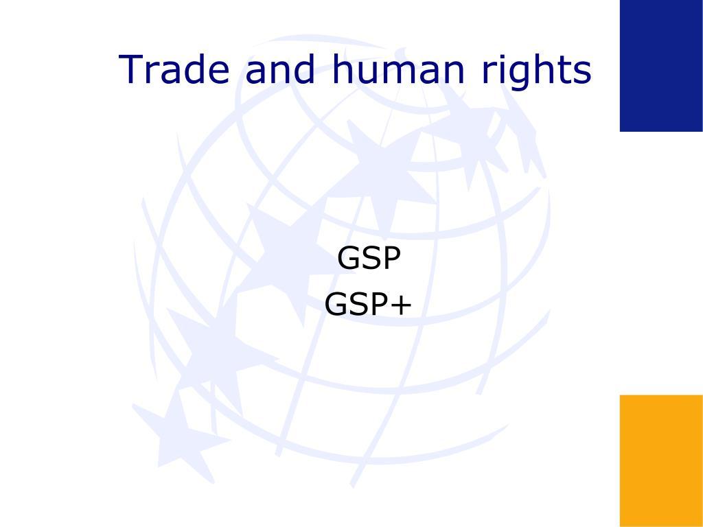 Trade and human rights