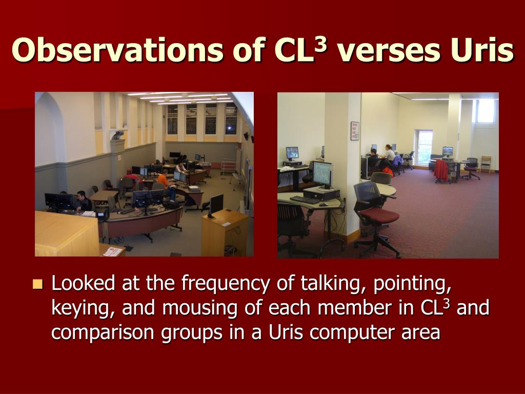 Observations of CL