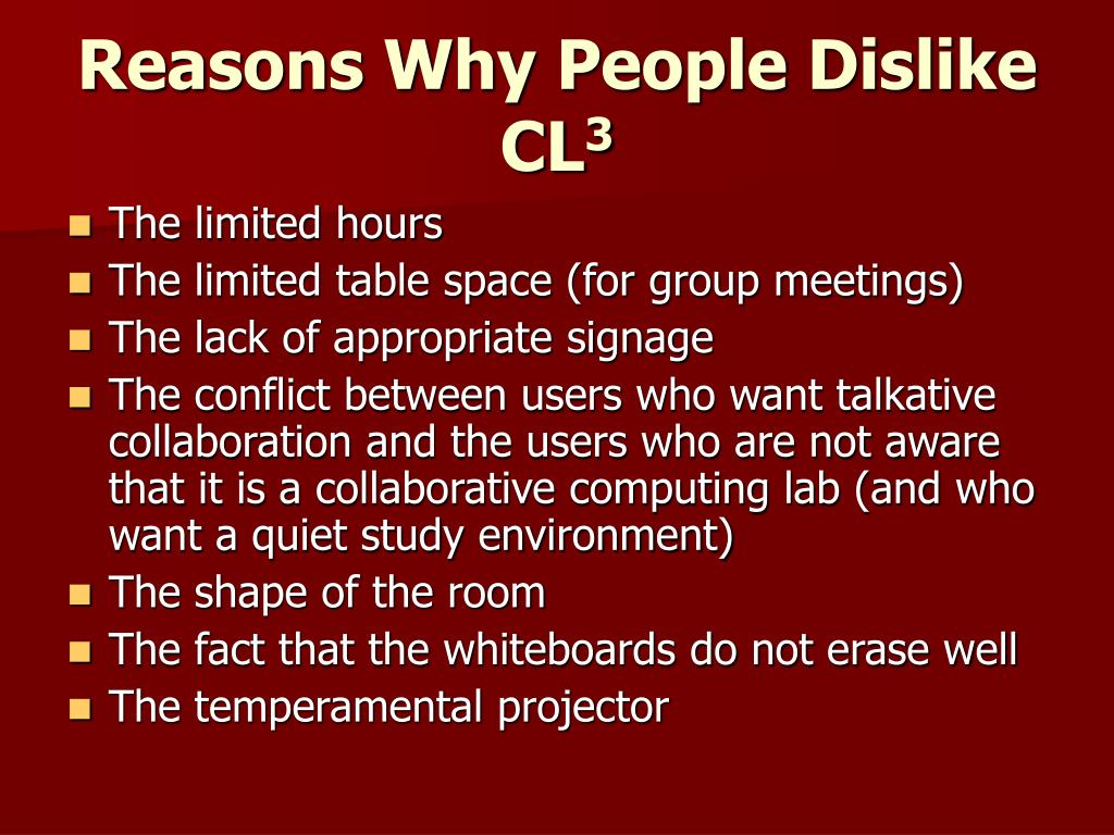 Reasons Why People Dislike CL