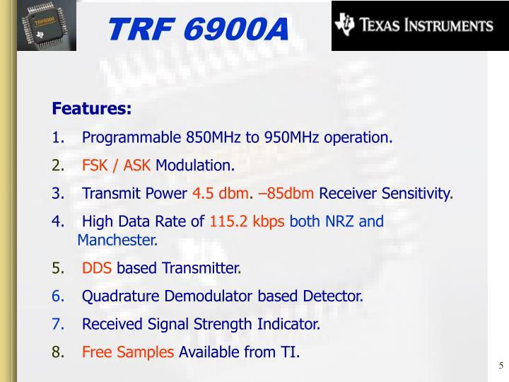 TRF 6900A