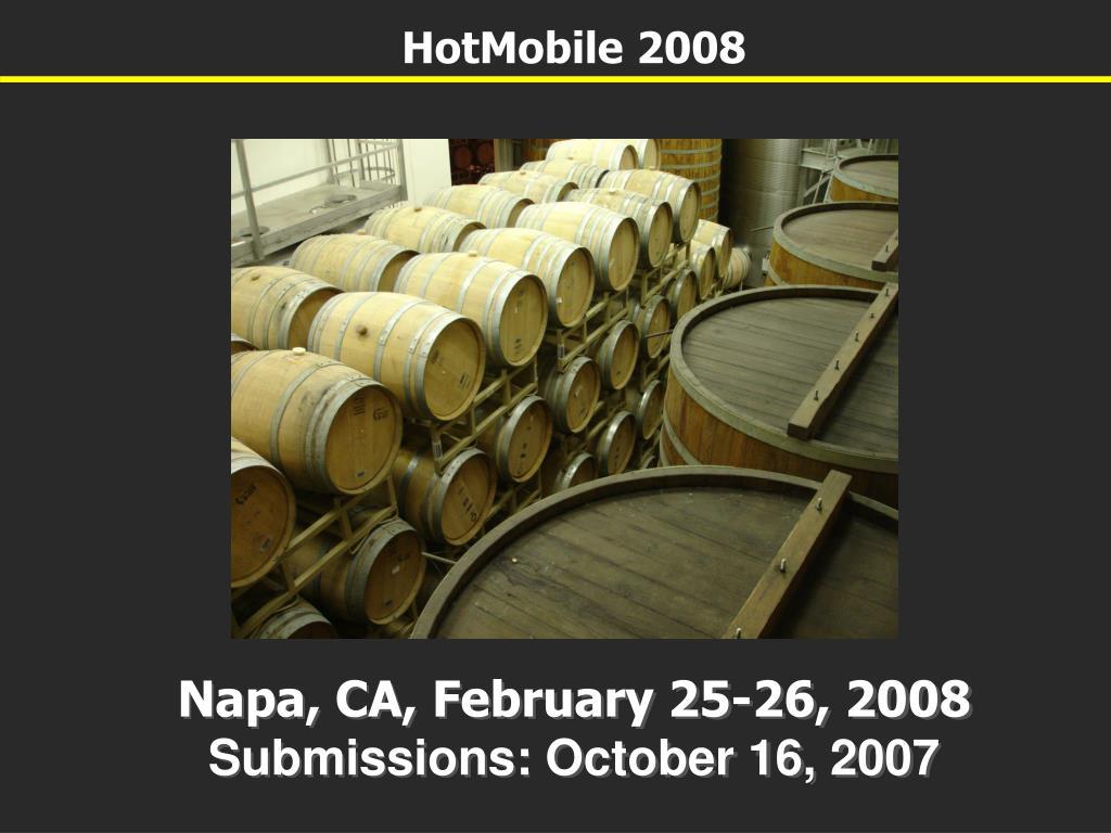 HotMobile 2008