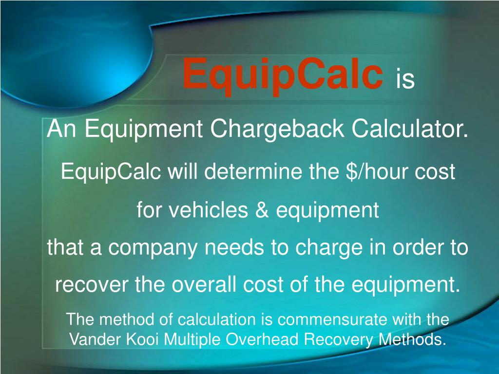 EquipCalc