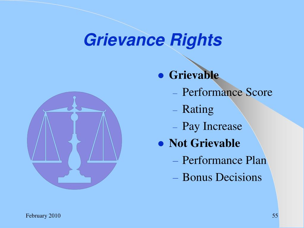 Grievance Rights