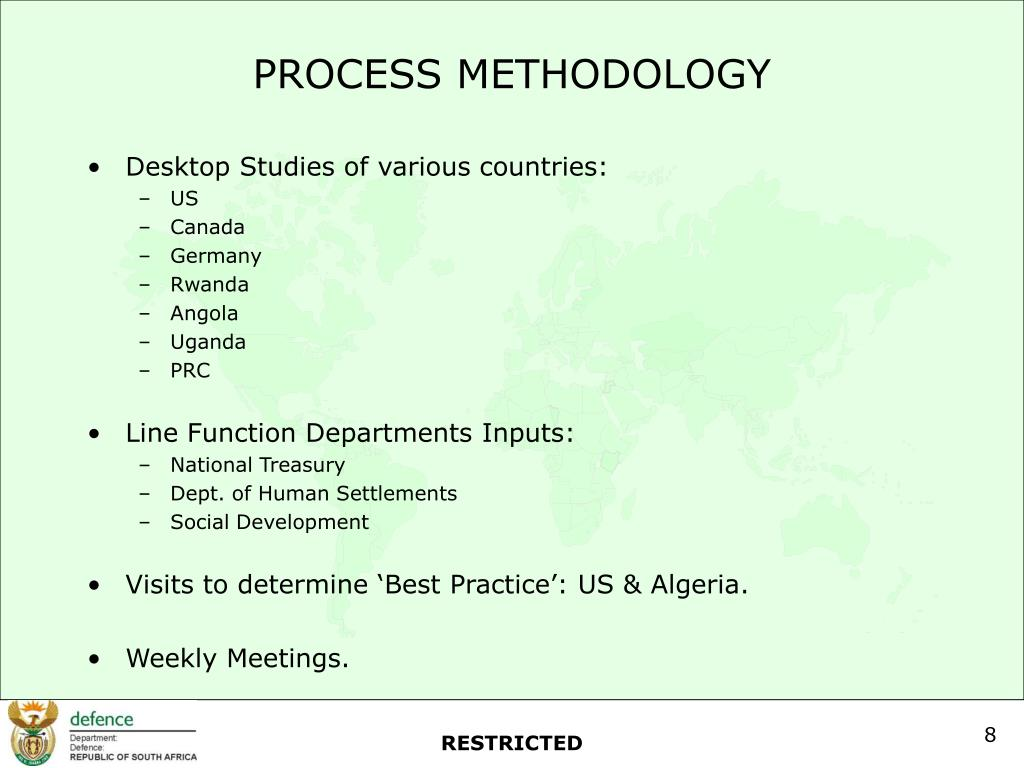 PROCESS METHODOLOGY