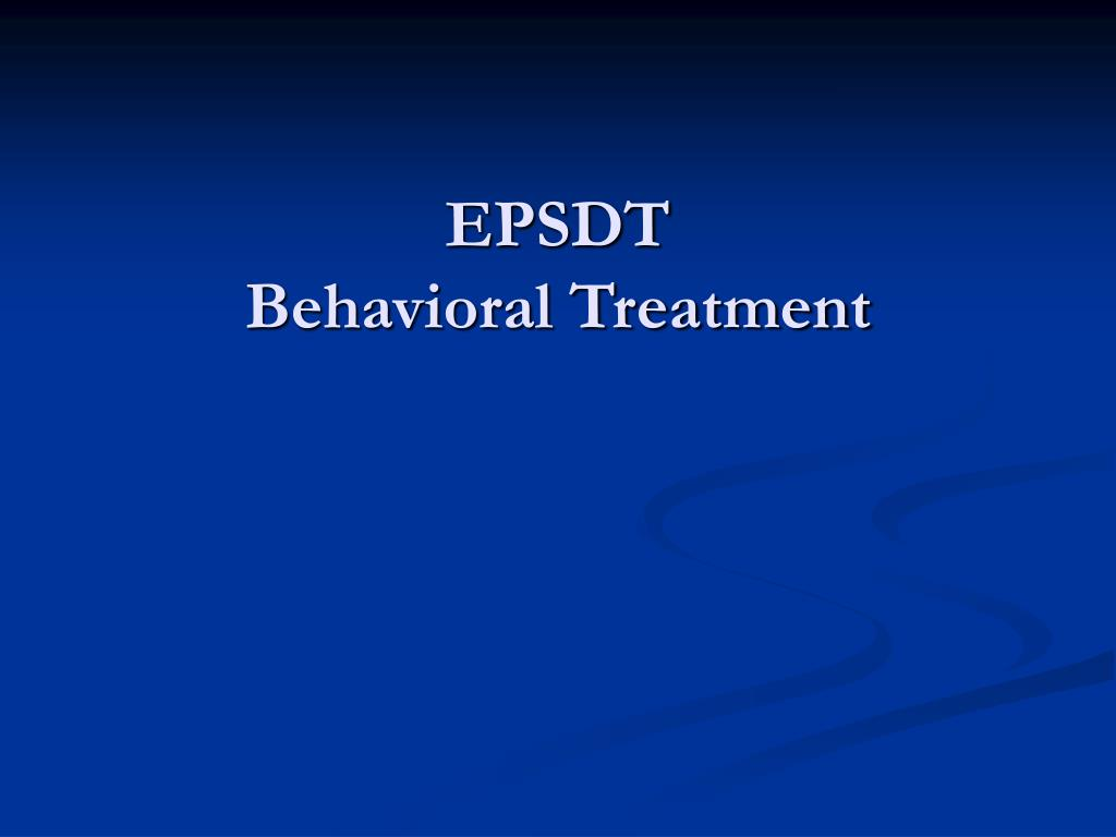 EPSDT
