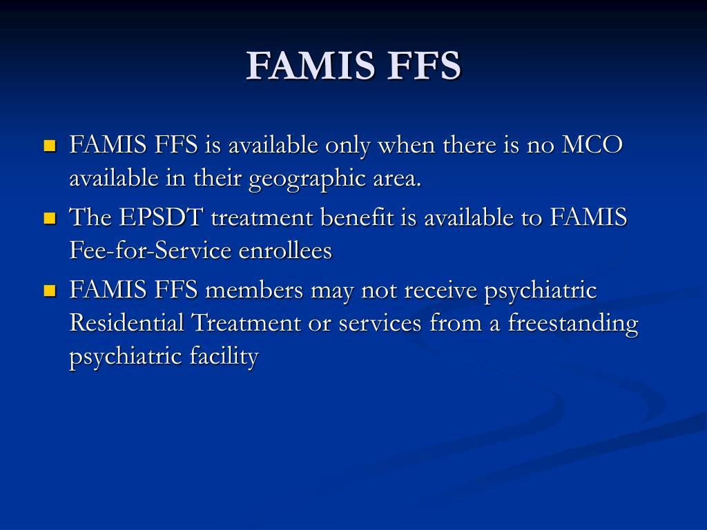 FAMIS FFS