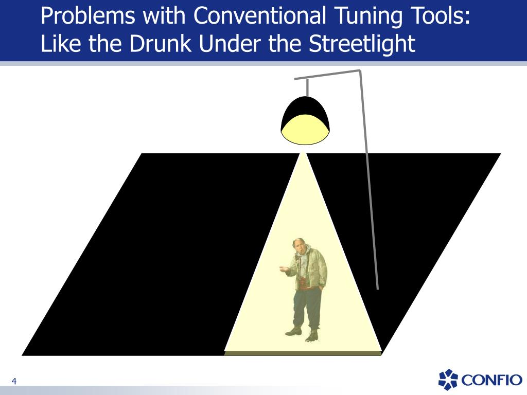 Problems with Conventional Tuning Tools: Like the Drunk Under the Streetlight