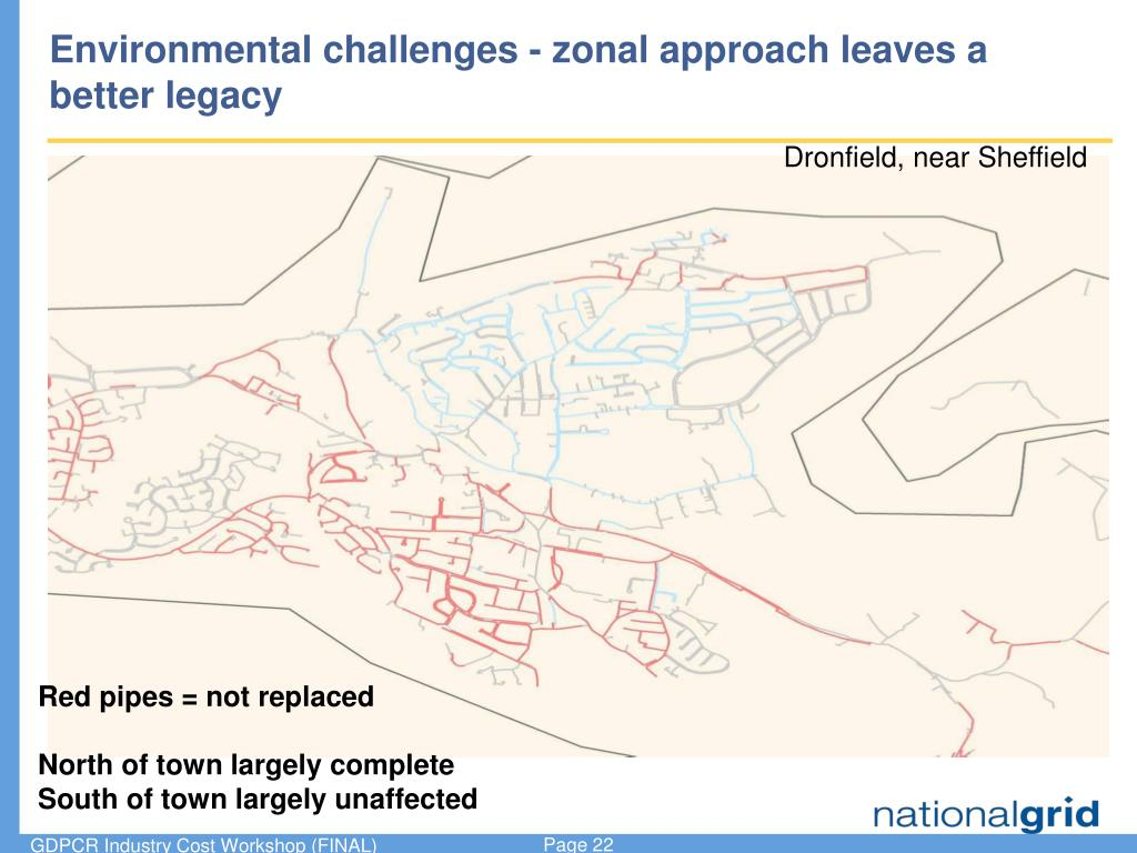 Environmental challenges - zonal approach leaves a better legacy