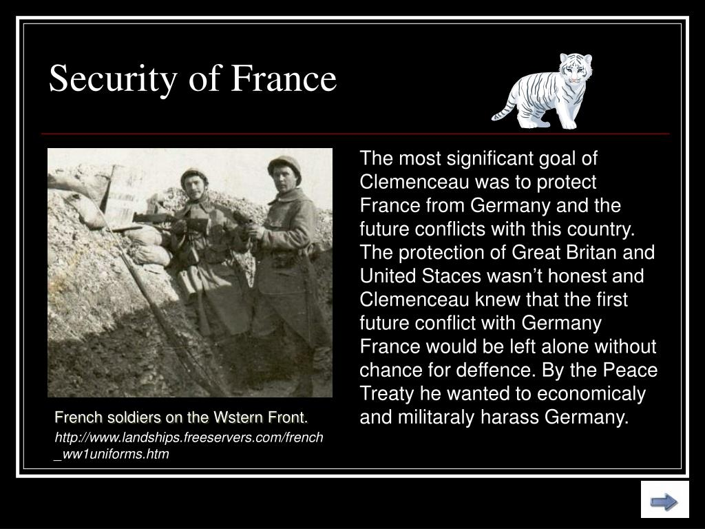 Security of France
