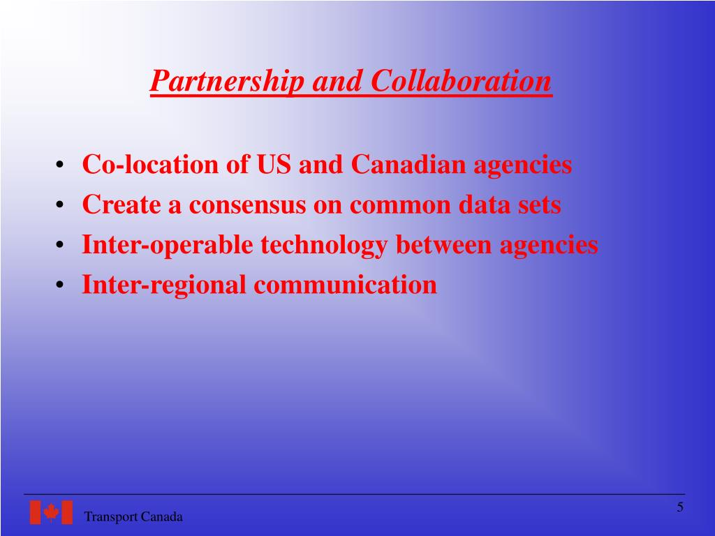 Partnership and Collaboration