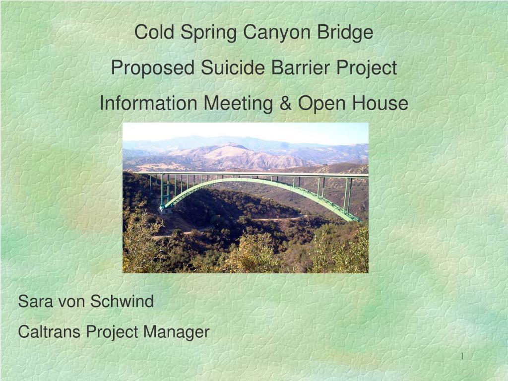 Cold Spring Canyon Bridge