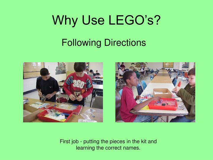 Why use lego s3