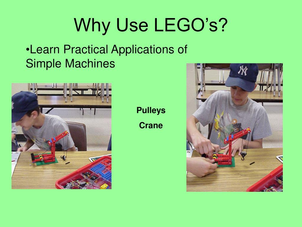 Why Use LEGO's?
