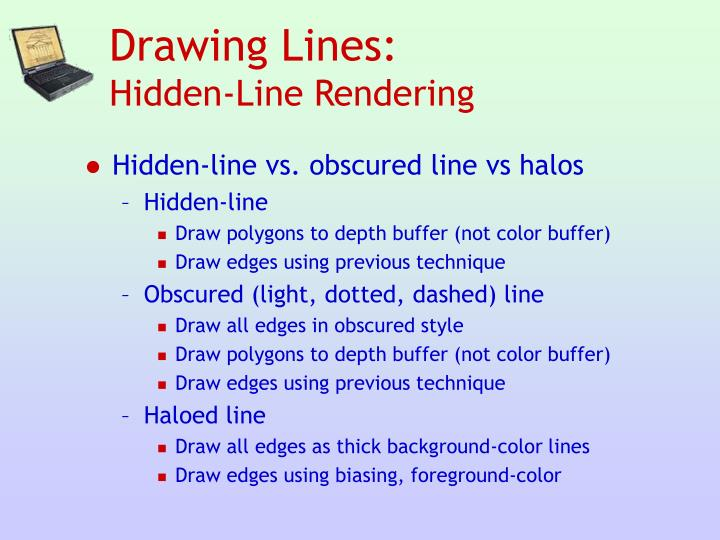 Drawing Lines: