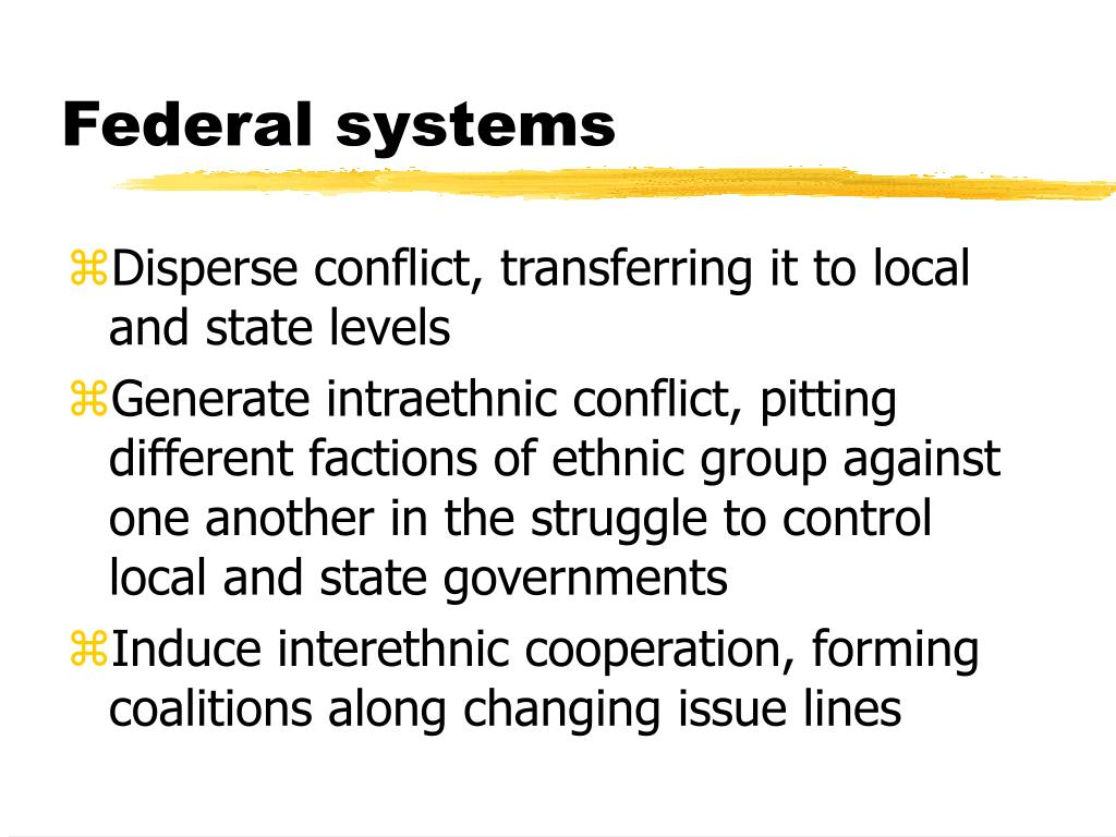 Federal systems