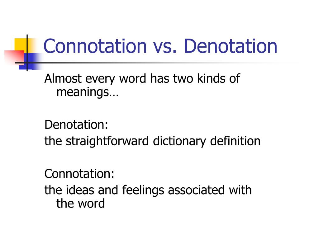Connotation And Denotation Worksheets Worksheet – Connotation Worksheet