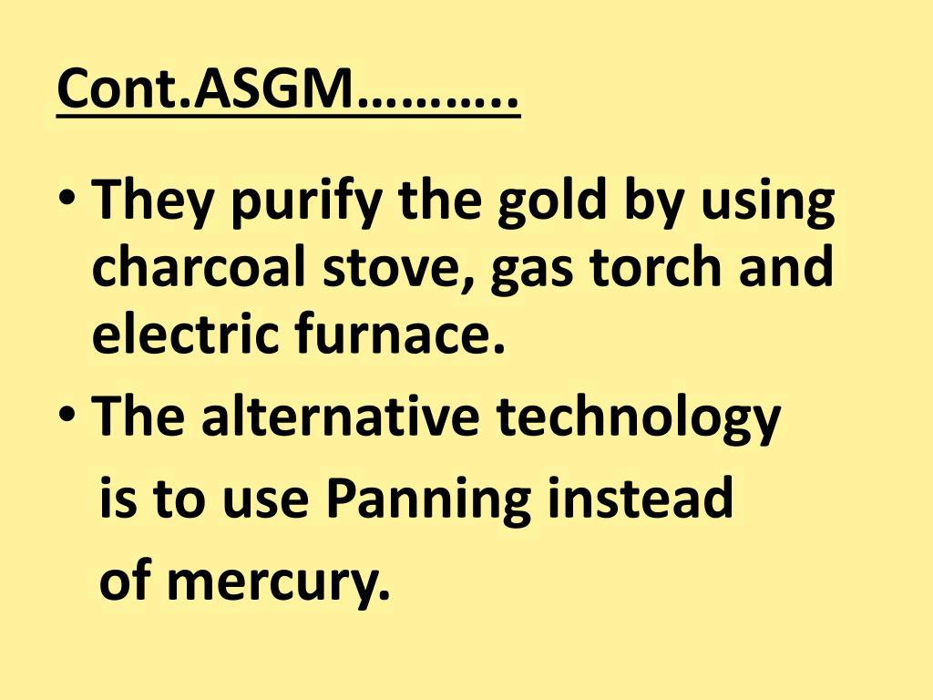 Cont.ASGM