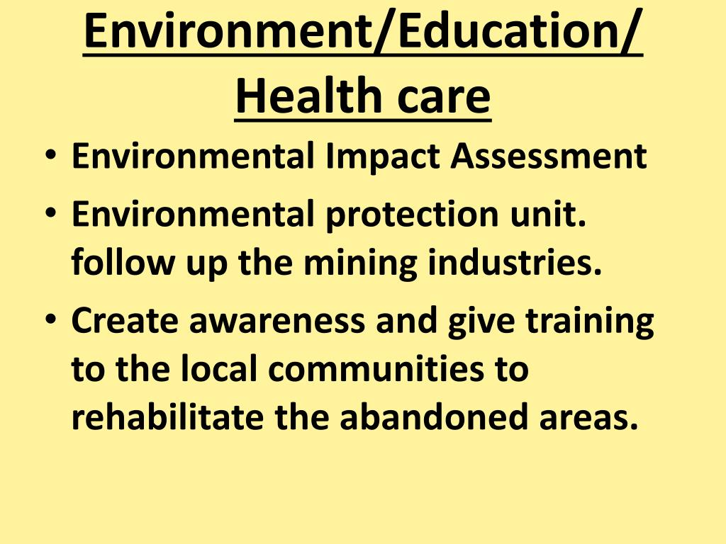 Environment/Education/