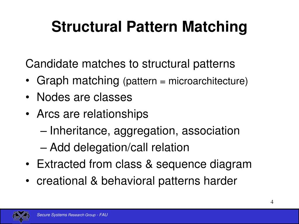 Structural Pattern Matching