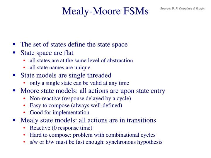 Mealy-Moore FSMs